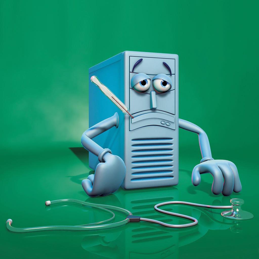 Een met malware geinfecteerde computer