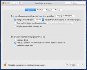 wachtwoorden mac