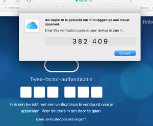 authenticatie mac