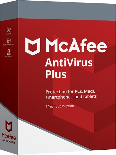 Antivirus plus 2019 Mcafee