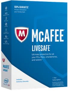 LIVESAFE MCAFEE