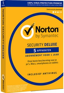 Norton Security Deluxe 5 apparaten