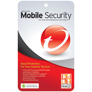 Smarth phone beveiliging van TrendMicro