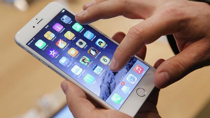 scherm van smartphone