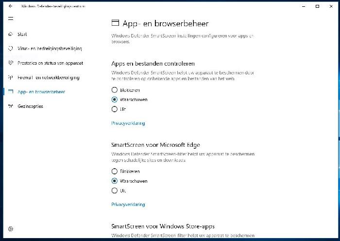 Browser beheer