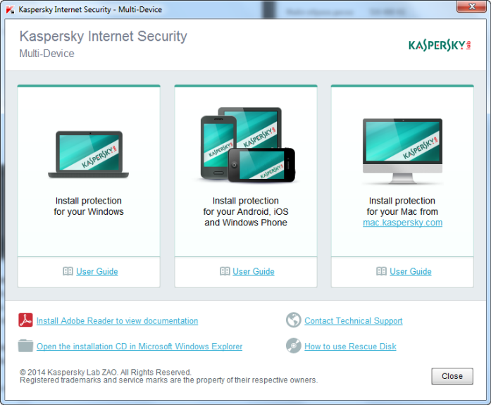 Kaspersky total Security Multi-Device review -
