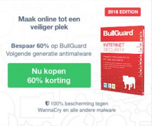 60 procent korting op bullguard