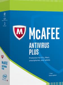 Mcafee antivirus pluss